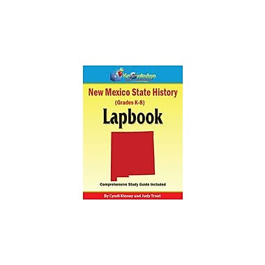 Knowledge Box Central New Mexico State History Lapbook Social Studies Workbook, Kindergarten - Grade 8 [eBook]