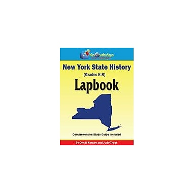 Knowledge Box Central New York State History Lapbook Social Studies Workbook, Kindergarten - Grade 8 [eBook]
