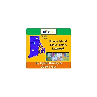 Knowledge Box Central Rhode Island State History Lapbook Social Studies Workbook, Kindergarten - Grade 8 [eBook]