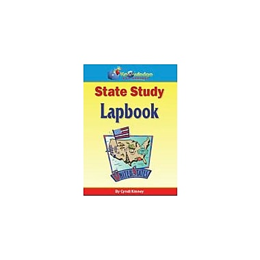 Knowledge Box Central State Study Lapbook (Works With Any State) History Workbook, Grade 1 - Grade 12 [eBook]