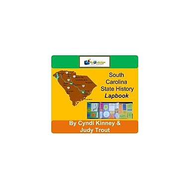 Knowledge Box Central South Carolina State History Lapbook Social Studies Workbook, Kindergarten - Grade 8 [eBook]