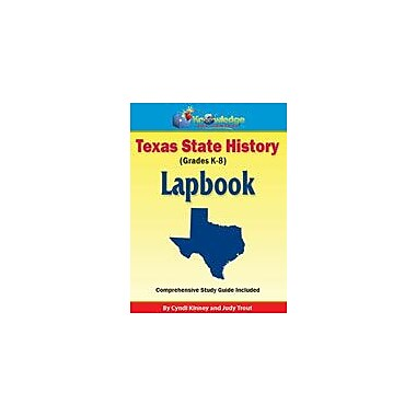 Knowledge Box Central Texas State History Lapbook Social Studies Workbook, Kindergarten - Grade 8 [eBook]