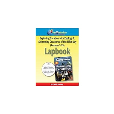 Exploring Creation With Zoology 2: Swimming Creatures of the 5th Day Lapbook Package (Lessons 1-13) [eBook]