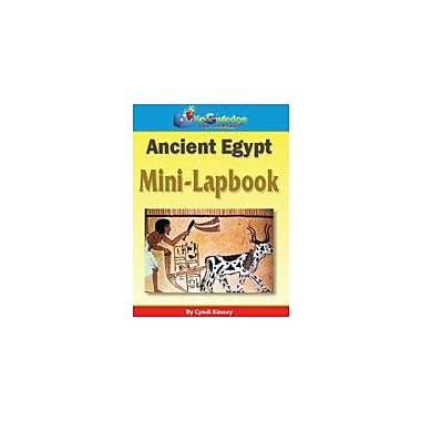 Knowledge Box Central Ancient Egypt Mini-Lapbook History Workbook, Grade 1 - Grade 8 [eBook]
