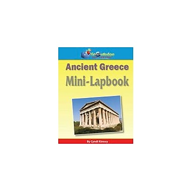 Knowledge Box Central Ancient Greece Mini-Lapbook History Workbook, Grade 1 - Grade 8 [eBook]