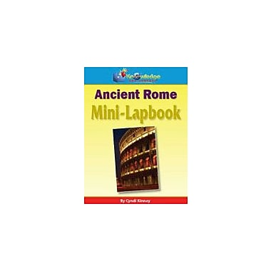 Knowledge Box Central Ancient Rome Mini-Lapbook History Workbook, Grade 1 - Grade 8 [eBook]