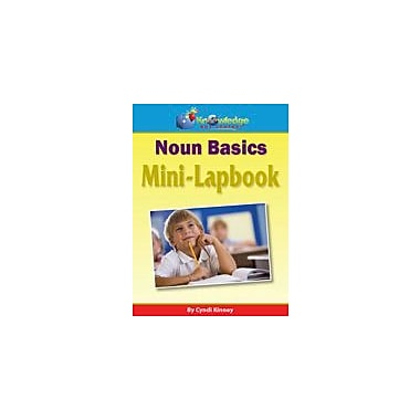 Knowledge Box Central Noun Basics Mini-Lapbook Grammar Workbook, Grade 1 - Grade 8 [eBook]
