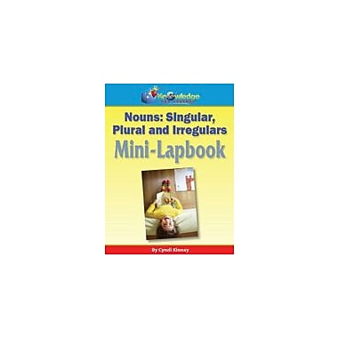 Knowledge Box Central Nouns, Singular, Plural, and Irregulars Mini-Lapbook Grammar Workbook, Grade 1 - Grade 8 [eBook]