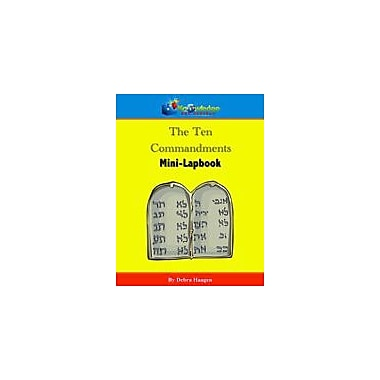 Knowledge Box Central The Ten Commandments Mini-Lapbook Other Workbook, Kindergarten - Grade 6 [eBook]