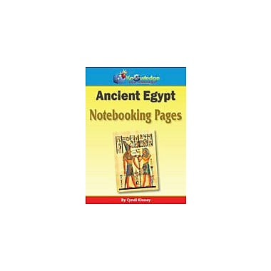 Knowledge Box Central Ancient Egypt Notebooking Pages History Workbook, Grade 1 - Grade 8 [eBook]