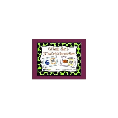 Knowledge Box Central CVC Words, Short I, QR Code Task Cards & Response Sheets Workbook, Kindergarten - Grade 2 [eBook]