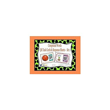 Knowledge Box Central Compound Words QR Task Cards & Response Sheets, Set 1 Workbook, Kindergarten - Grade 2 [eBook]