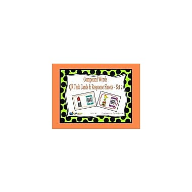 Knowledge Box Central Compound Words QR Task Cards & Response Sheets, Set 2 Workbook, Kindergarten - Grade 2 [eBook]