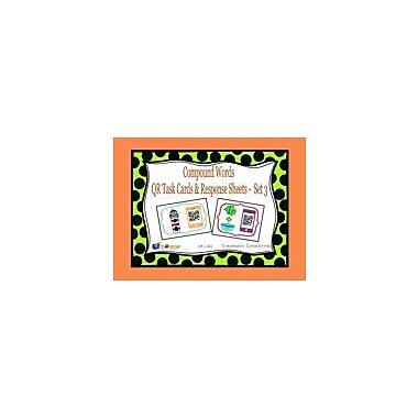 Knowledge Box Central Compound Words QR Task Cards & Response Sheets, Set 3 Workbook, Kindergarten - Grade 2 [eBook]
