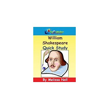 Knowledge Box Central William Shakespeare Quick Study Reading & Writing Workbook, Kindergarten - Grade 8 [eBook]