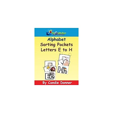 Knowledge Box Central Alphabet Sorting Pockets: E to H Reading & Writing Workbook, Preschool - Grade 1 [eBook]