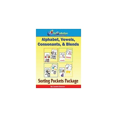 Knowledge Box Central Alphabet, Vowels, Consonants, & Blends Sorting Pockets Package Workbook, Preschool - Grade 1 [eBook]