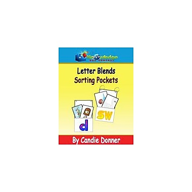 Knowledge Box Central Blends Sorting Pockets Reading & Writing Workbook, Preschool - Grade 1 [eBook]