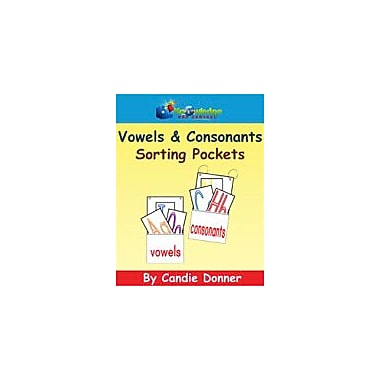 Knowledge Box Central Vowels & Consonants Sorting Pockets Reading & Writing Workbook, Preschool - Grade 1 [eBook]