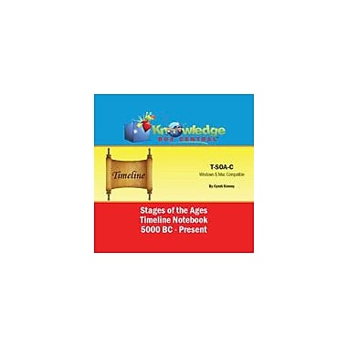 Knowledge Box Central Stages of the Ages Timeline Notebook 5000 Bc to Present Workbook, Kindergarten - Grade 12 [eBook]
