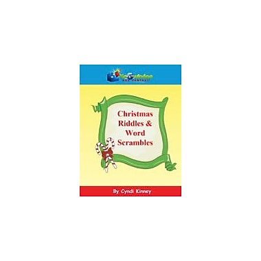 Knowledge Box Central Christmas Riddles & Word Scrambles Puzzles Workbook, Kindergarten - Grade 8 [eBook]
