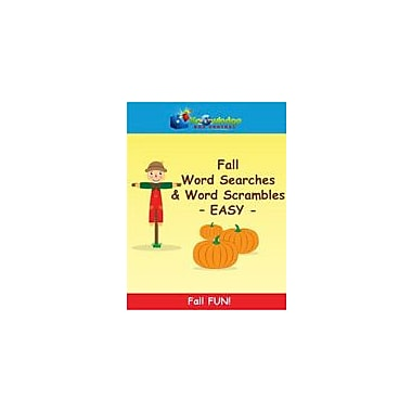 Knowledge Box Central Fall Word Searches & Word Scramblesasy Puzzles Workbook, Kindergarten - Grade 8 [eBook]