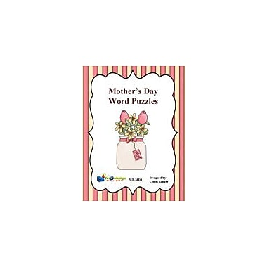 Knowledge Box Central Mother's Day Word Puzzles Puzzles Workbook, Kindergarten - Grade 8 [eBook]