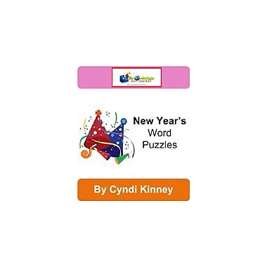 Knowledge Box Central New Year's Word Puzzles Puzzles Workbook, Kindergarten - Grade 8 [eBook]