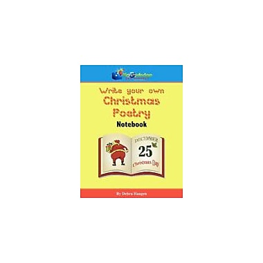 Knowledge Box Central Write-Your-Own Christmas Poetry Notebook Reading & Writing Workbook, Kindergarten - Grade 8 [eBook]