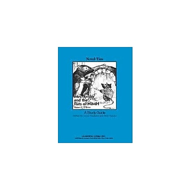 Learning Links/Novel-Ties Mrs. Frisby and the Rats of Nimh: A Novel-Ties Study Guide Workbook, Grade 4 - Grade 7 [eBook]