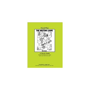 Learning Links/Novel-Ties The Westing Game: A Novel-Ties Study Guide Language Arts Workbook, Grade 5 - Grade 9 [eBook]