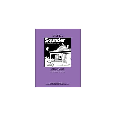 Learning Links/Novel-Ties Sounder: A Novel-Ties Study Guide Language Arts Workbook, Grade 6 - Grade 9 [eBook]