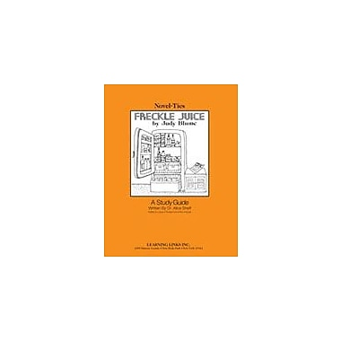 Learning Links/Novel-Ties Freckle Juice: A Novel-Ties Study Guide Language Arts Workbook, Grade 2 - Grade 5 [Enhanced eBook]