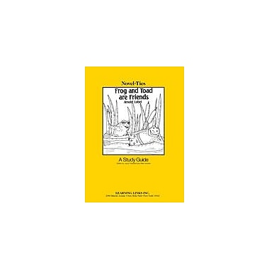 Learning Links/Novel-Ties Frog and Toad Are Friends: A Novel-Ties Study Guide Language Arts Workbook, Grade 1 - Grade 3 [eBook]