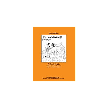 Learning Links/Novel-Ties Henry and Mudge: A Novel-Ties Study Guide Language Arts Workbook, Kindergarten - Grade 3 [eBook]