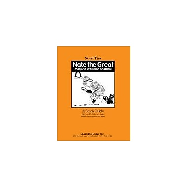 Learning Links/Novel-Ties Nate the Great: A Novel-Ties Study Guide Language Arts Workbook, Grade 1 - Grade 4 [eBook]