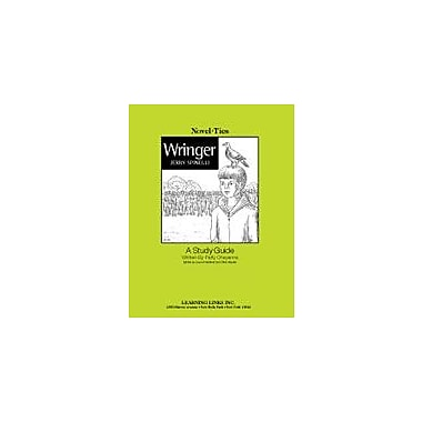 Learning Links/Novel-Ties Wringer: A Novel-Ties Study Guide Language Arts Workbook, Grade 4 - Grade 7 [Enhanced eBook]