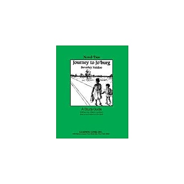 Learning Links/Novel-Ties Journey to Jo'burg: A Novel-Ties Study Guide Workbook, Grade 4 - Grade 7 [Enhanced eBook]