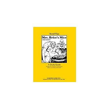 Learning Links/Novel-Ties Mrs. Brice's Mice: A Novel-Ties Study Guide Language Arts Workbook, Kindergarten - Grade 2 [eBook]