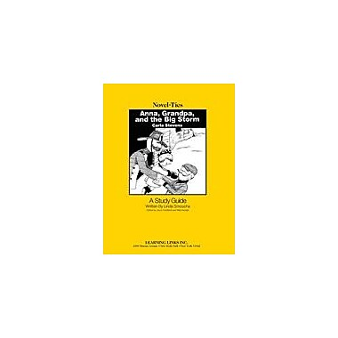 Learning Links/Novel-Ties Anna, Grandpa and the Big Storm: A Novel-Ties Study Guide Workbook, Grade 2 - Grade 4 [eBook]