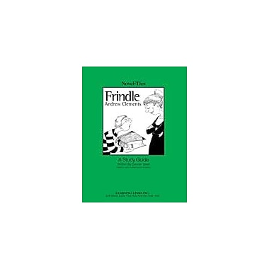 Learning Links/Novel-Ties Frindle: A Novel-Ties Study Guide Language Arts Workbook, Grade 4 - Grade 7 [eBook]
