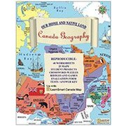 LearnSmart Publishing Canada Geography (English) Social Studies Workbook, Grade 3 - Grade 7 [eBook]