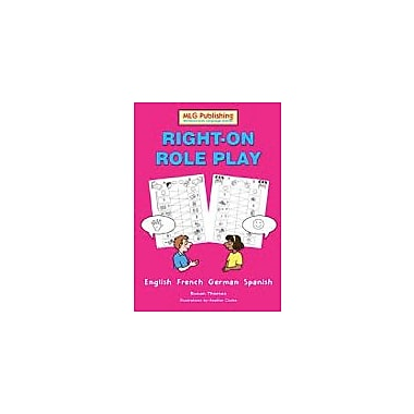 MLG Publishing Right-On Role Play Language Arts Workbook, Grade 5 - Grade 9 [eBook]