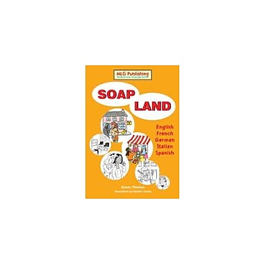 MLG Publishing Soapland Language Arts Workbook, Grade 7 - Grade 12 [eBook]