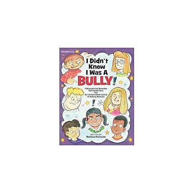 Marco Products Inc. I Didn't Know I Was A Bully Character & Social Skills Workbook, Kindergarten - Grade 5 [eBook]