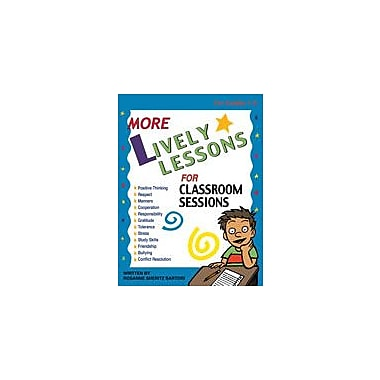 Marco Products Inc. More Lively Lessons Character & Social Skills Workbook, Grade 1 - Grade 5 [eBook]