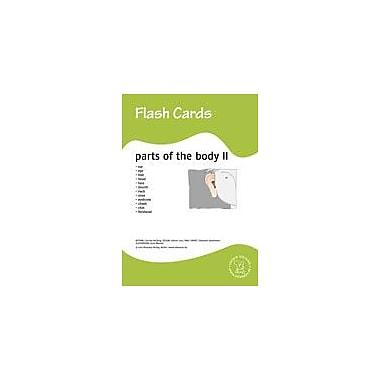 Miamaus Verlag Publishing Flashcards: Parts of the Body Ii Language Arts Workbook, Preschool - Grade 3 [eBook]