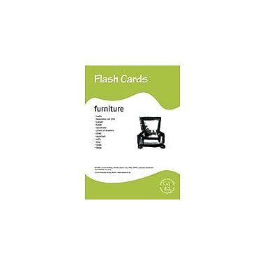 Miamaus Verlag Publishing Flashcards: Furniture Language Arts Workbook, Preschool - Grade 3 [eBook]