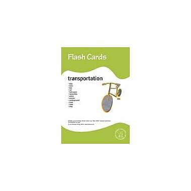Miamaus Verlag Publishing Flashcards: Transportation Language Arts Workbook, Preschool - Grade 3 [eBook]