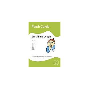 Miamaus Verlag Publishing Flashcards: Describing People Language Arts Workbook, Preschool - Grade 3 [eBook]